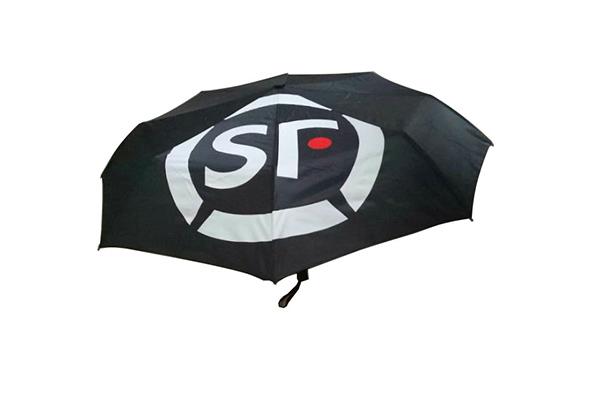 Plain manual open fold umbrella