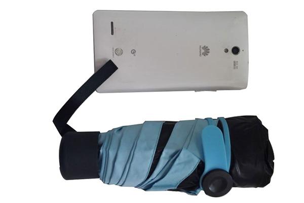 Five section UV protection Small pocket umbrella