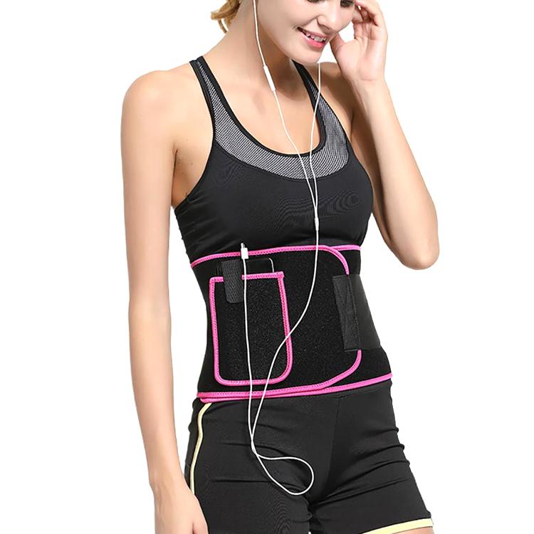 Sweat waist belt with pocket Featured Image
