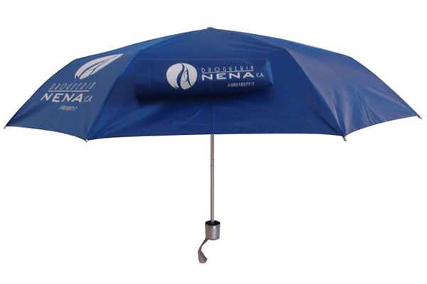 UV protection three section umbrella