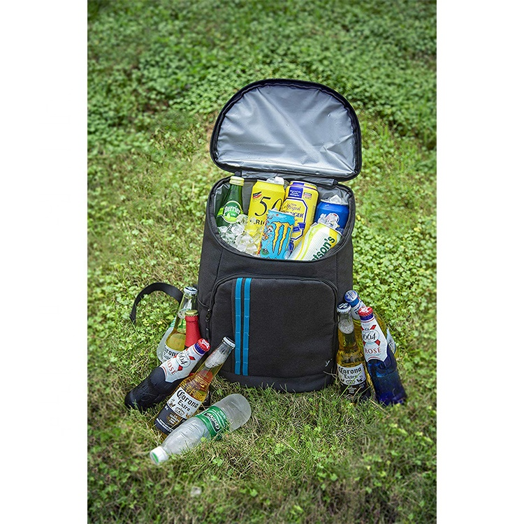 Wholesale 30 Cans Lightweight Insulated Backpack Cooler Leak Proof Soft Cooler Bag