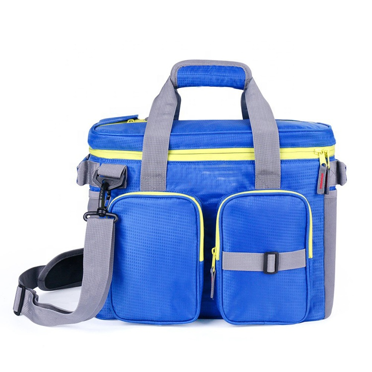Wholesale Outdoor 24 Can Soft Cooler Bag with Adjustable Shoulder For Camping Fishing Featured Image