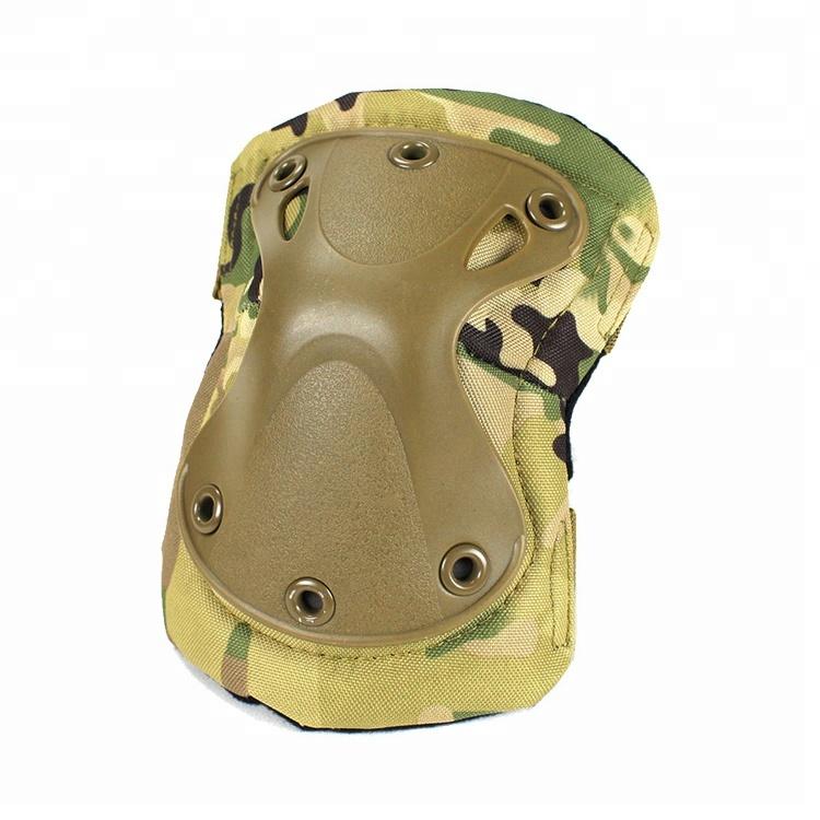 Wholesale Black Cordura Nylon Fabric AltaGrip Fastening Flexible Cap Motorcycle knee protector Featured Image