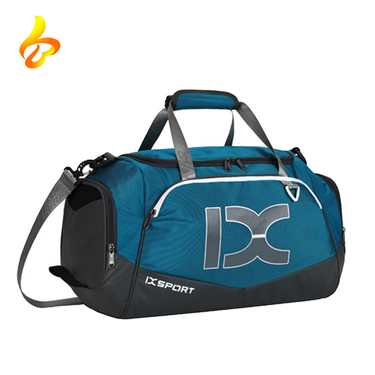 Athletic Sport Duffel Bag Luggage Gym Sports Bag with Shoe Compartment, Travel Duffel Bag Featured Image