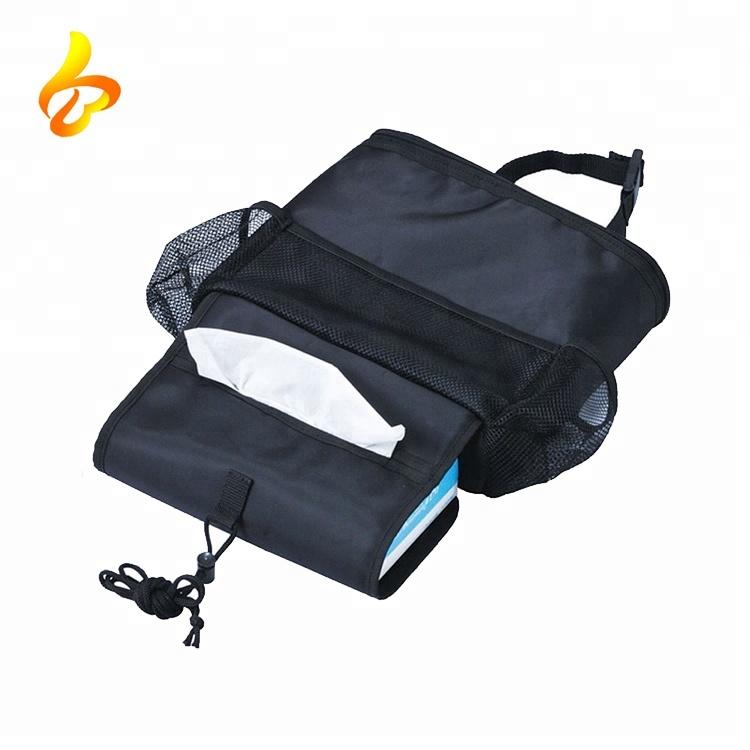 Multi-Pocket Travelling Insulated Car Seat Back Drinks Holder Cooler Car Organizer Bag Featured Image