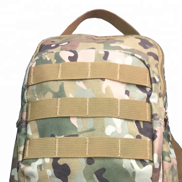 Digital Camouflage Color OEM 600D PVC Molle System Rucksack Small Military Tactical Bag