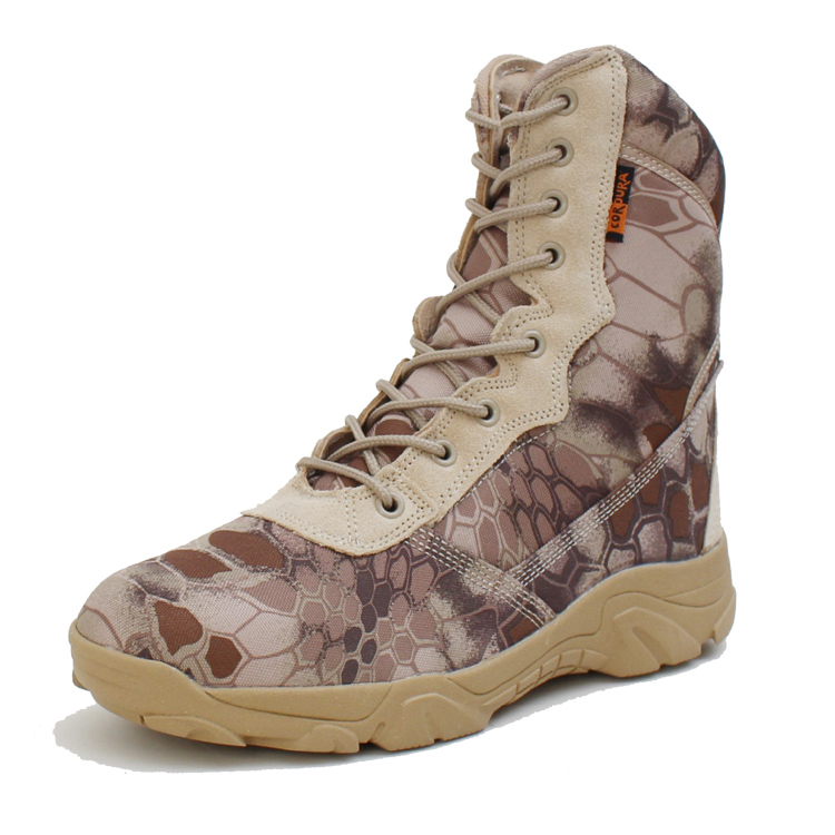Wholesale Camouflage Color Soft Toe Lightweight Men's Military Tactical Boot For Man