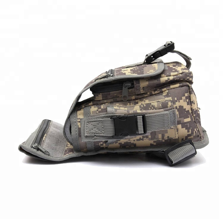 Motorcycle Cycling Sports Anti-Tear Canvas Utility Pouch Military Tactical Drop Leg Bag Pouch bag