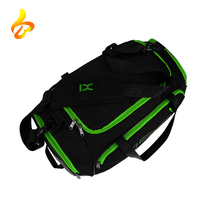 Athletic Sport Duffel Bag Luggage Gym Sports Bag with Shoe Compartment, Travel Duffel Bag