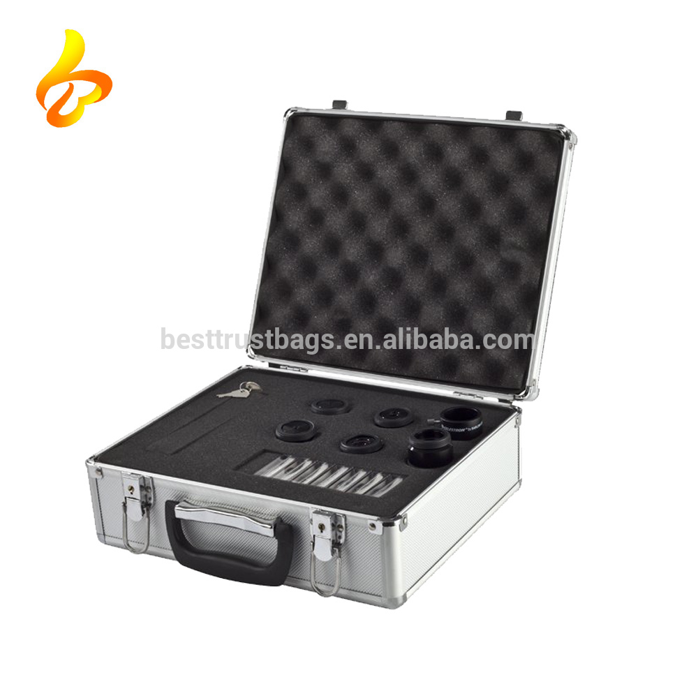 Wholesale Carrying Case External Aluminum Case With Foam Inside Aluminum Camera Lens Case Featured Image