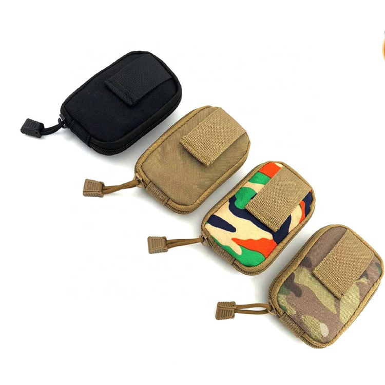 Outdoor Molle System Belt Holder Waterproof Pouch Bag Tactical  Small Foldable Spout Pouch Bag