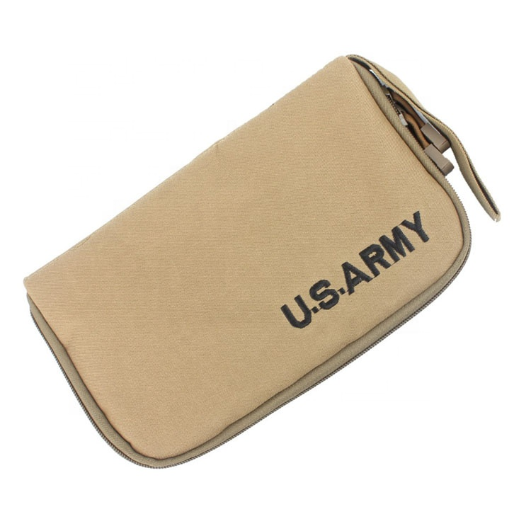 Wholesale 600D Oxford Water Resistance Camouflage Small Size Zipper Pouch Bag U.S Army Bag