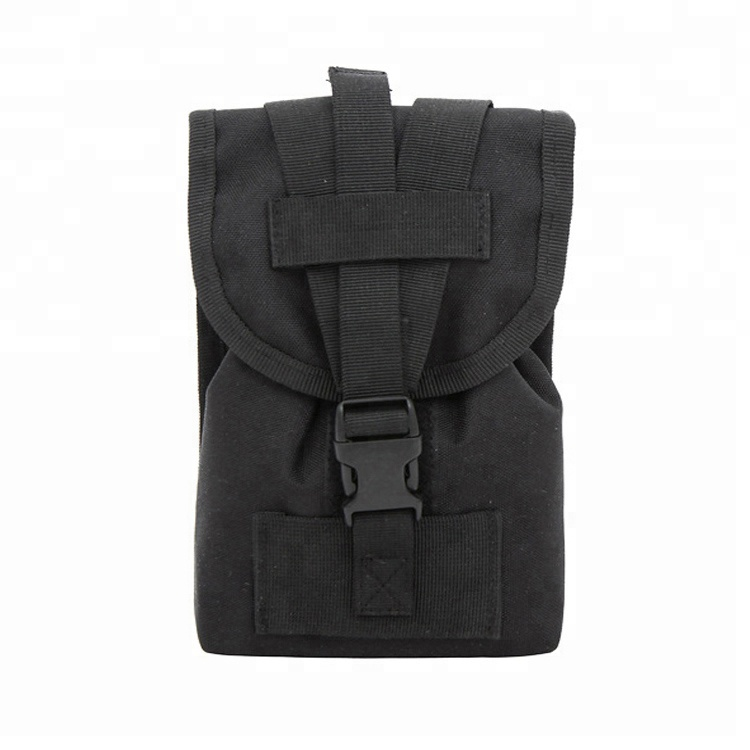 """Universal Nylon Tactical Pouch 6"""" Smartphone Holster Molle Military Waist Pack, Waist Belt Pouch"""