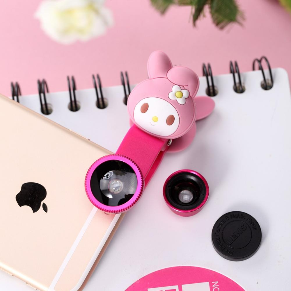 Promotional Gift Cartoon HD Wide Angle Fisheye Lens for All Mobile Phone Featured Image