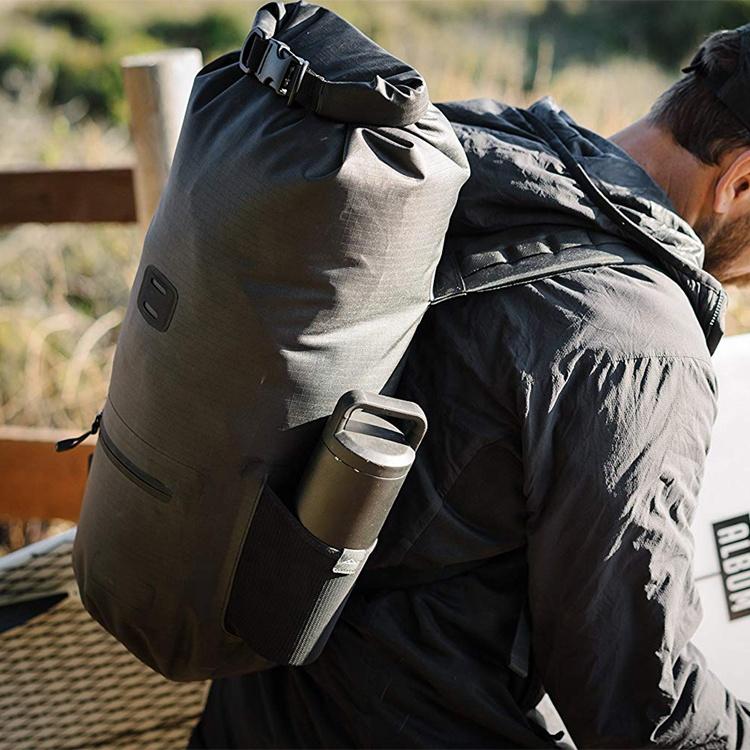 Roll Top Compression Dry Sack 20L 30L Customize Logo Lightweight Nylon TPU Business Dry Bag Rucksack
