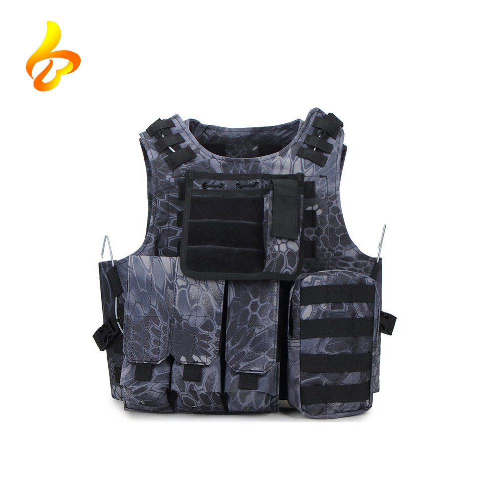 Outdoor MOLLE 1000D Nylon Breathable Combat Training Adults Military Combat Vest Featured Image