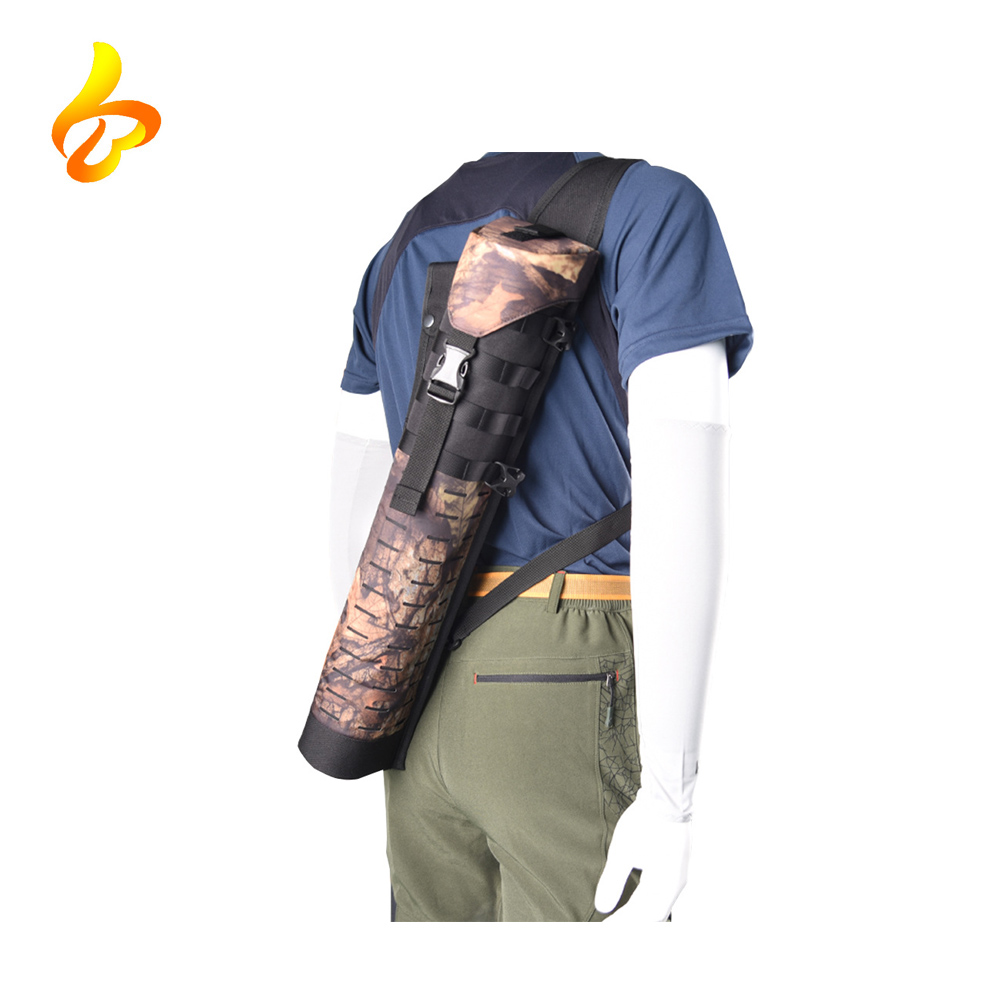 China Wholesale Outdoor Products Hunting Training Waist Belt Bow Bag Molle Bow and arrow Bags