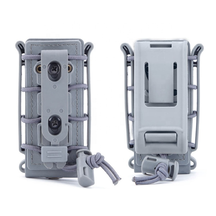 Molle Mag Pouches Tactical Airsoft Poly Mag Carrier 9mm Pistol Magazine Pouch For Hunting Equipment