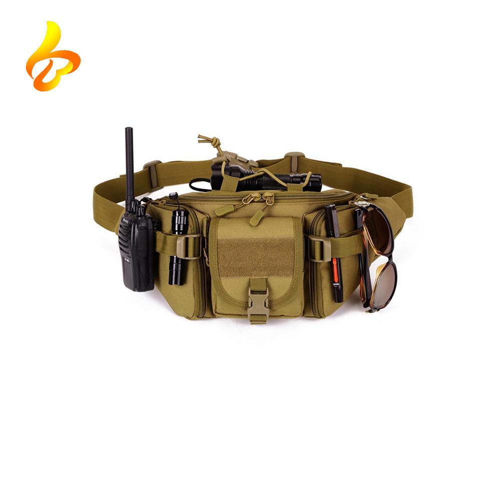 Outdoor Travel Waist Pack Tactical Assault Gear Shoulder Molle Modular Men Sling pack