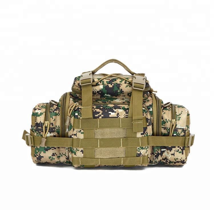 Outdoor Travelling  Nylon Tactical Assault Gear Sling Pack Molle Modular Men Waist Bag