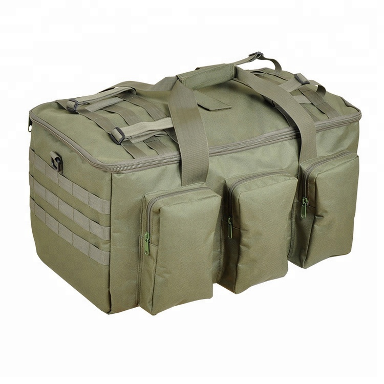 Camouflage Color Tactical Duffle MOLLE Handbag Gear Small Valise Military Travel Sport Bag