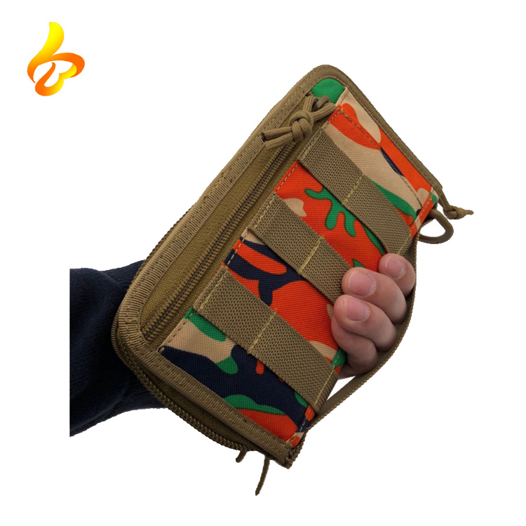 Outdoor Travel Pouch Holster ID Cards Key 1000D Tactical Men's Wallet Bag