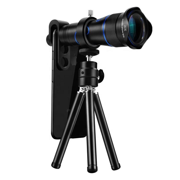 Newly Zoom Optical Mobile Camera Lens 22x Phone Camera Telephoto Lens