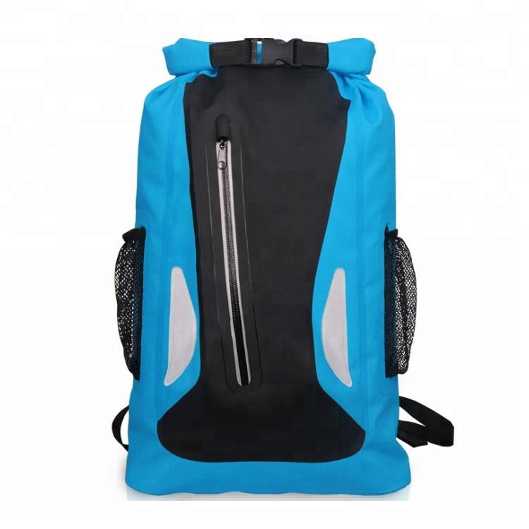 Water proof Dry Sack Comfort Shoulder Straps 30L Reflective Waterproof PVC Tarpaulin Backpack Featured Image