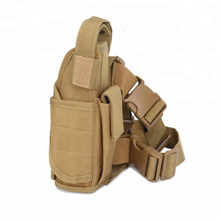 Adjustable Free Size Air Soft Equipped Customized Drop Leg Holster Military Tactical Holster Featured Image