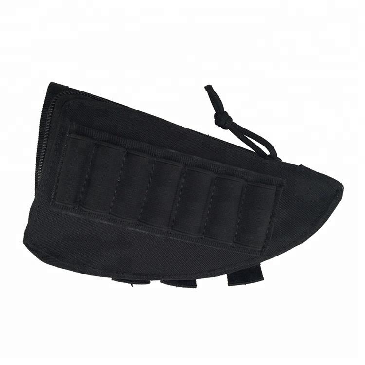 Tactical Rifle Shot Gun Bag Nylon Magazine Butt stock Pouch Holder Tactical Gun Bag