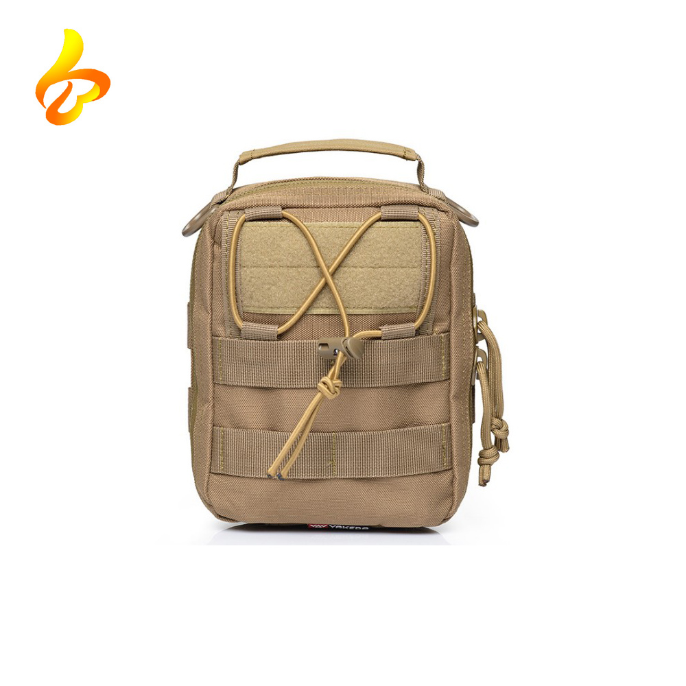 Wholesale Molle Pouch Emergency Waterproof Strong 1000D Tactical First Aid Utility Bag