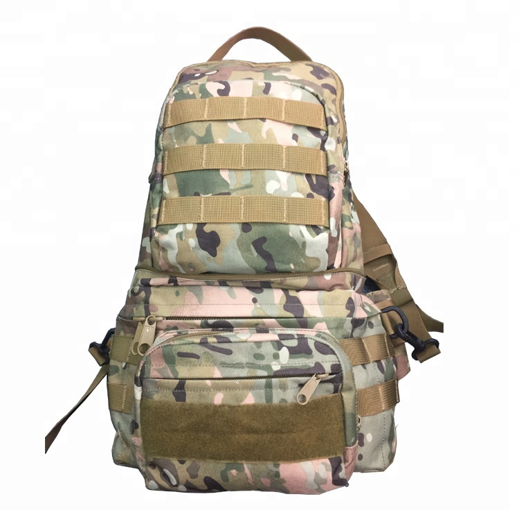 Digital Camouflage Color OEM 600D PVC Molle System Rucksack Small Military Tactical Bag Featured Image