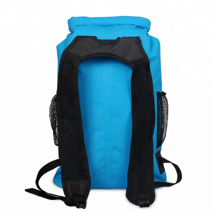 Water proof Dry Sack Comfort Shoulder Straps 30L Reflective Waterproof PVC Tarpaulin Backpack