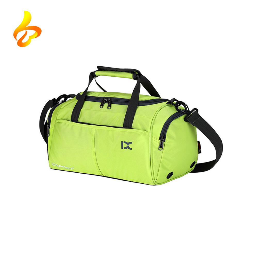 China Manufacturer Wholesale Polyester 600D Waterproof Custom Men Practical Sports Gym Bag