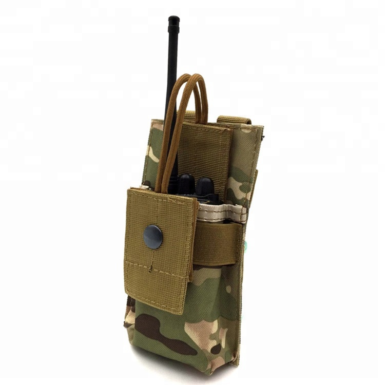 Hot Sell Tactical Bag Organza Radio Molle Military Pouches For Walkie Talkie