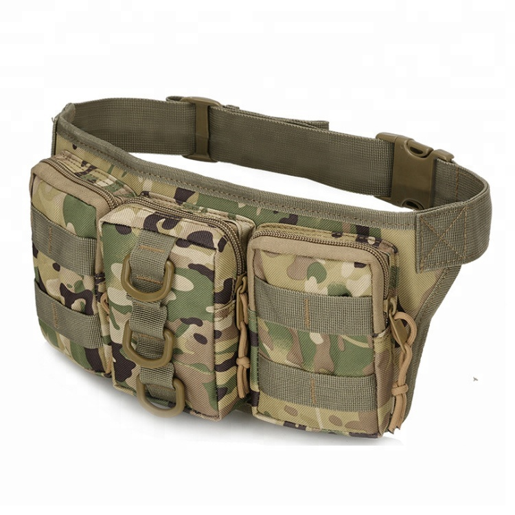 Military Fanny Packs Waterproof Men Hip Belt Bag Pouch for Hunting Camping Trekking Featured Image