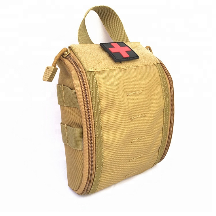 High Quality Camouflage Molle System Pouch Emergency 1000D Utility Bag Nylon First Aid Bag
