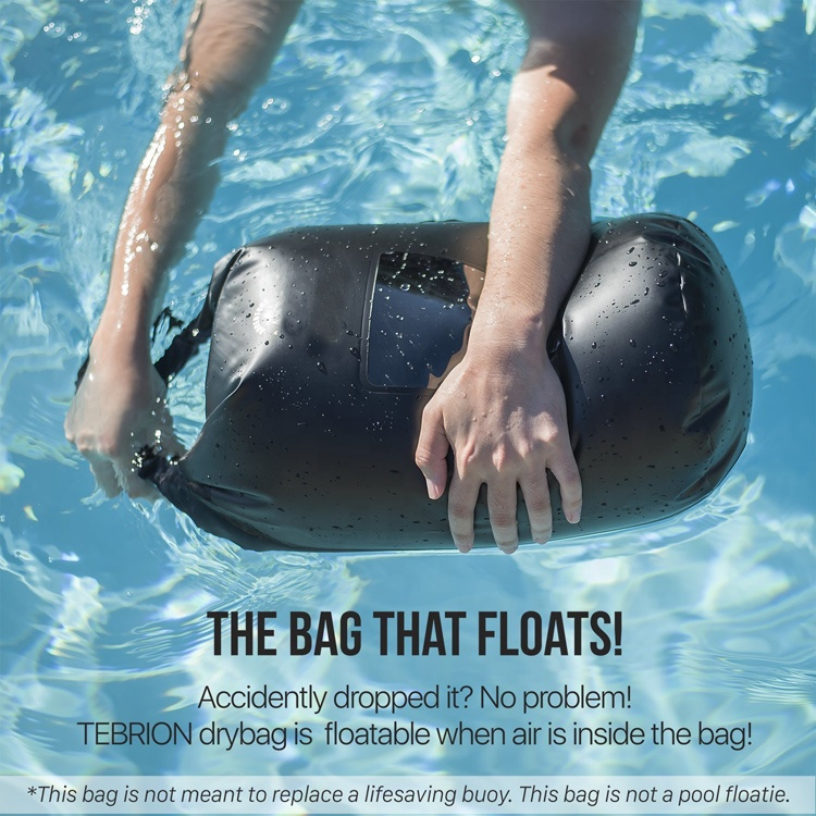 Expand Capacity Waterproof Phone Case Top Dry Sack 10l Keep Gear Dry Perfect For Kayaking Rafting Boating