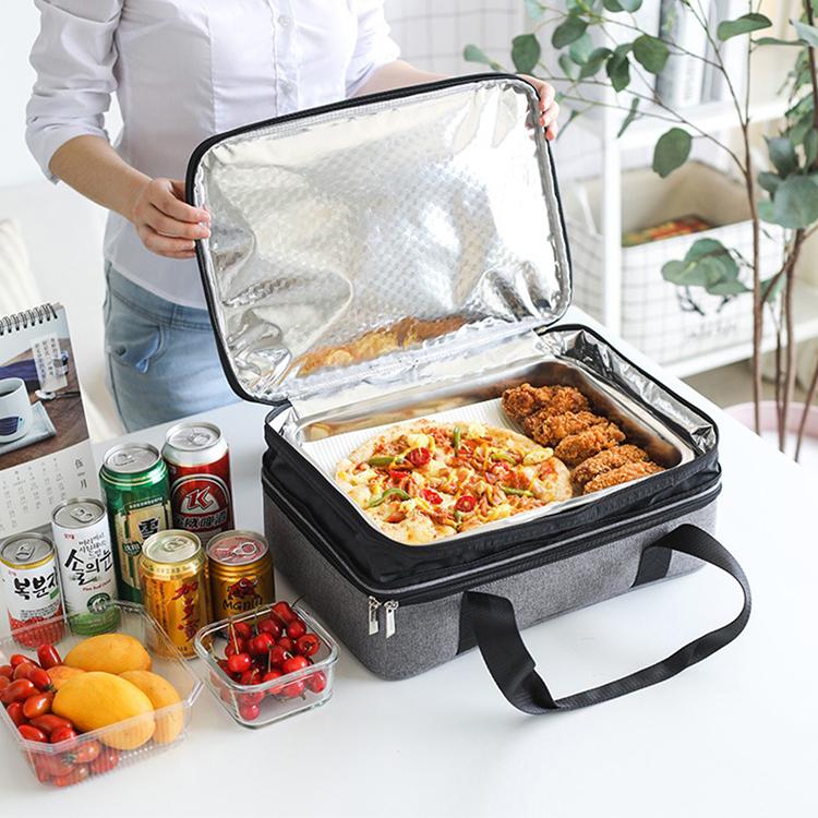 Wholesale Amazon Hot Sale BBQ Cooler Bag Portable Travel Lunch Cooler Bag
