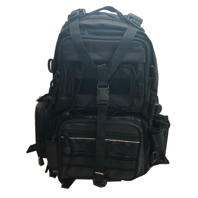 Wholesale 1000D Nylon Waterproof Zipper Multi functional Large Storage Custom Tackle Backpack For Outdoor Fishing