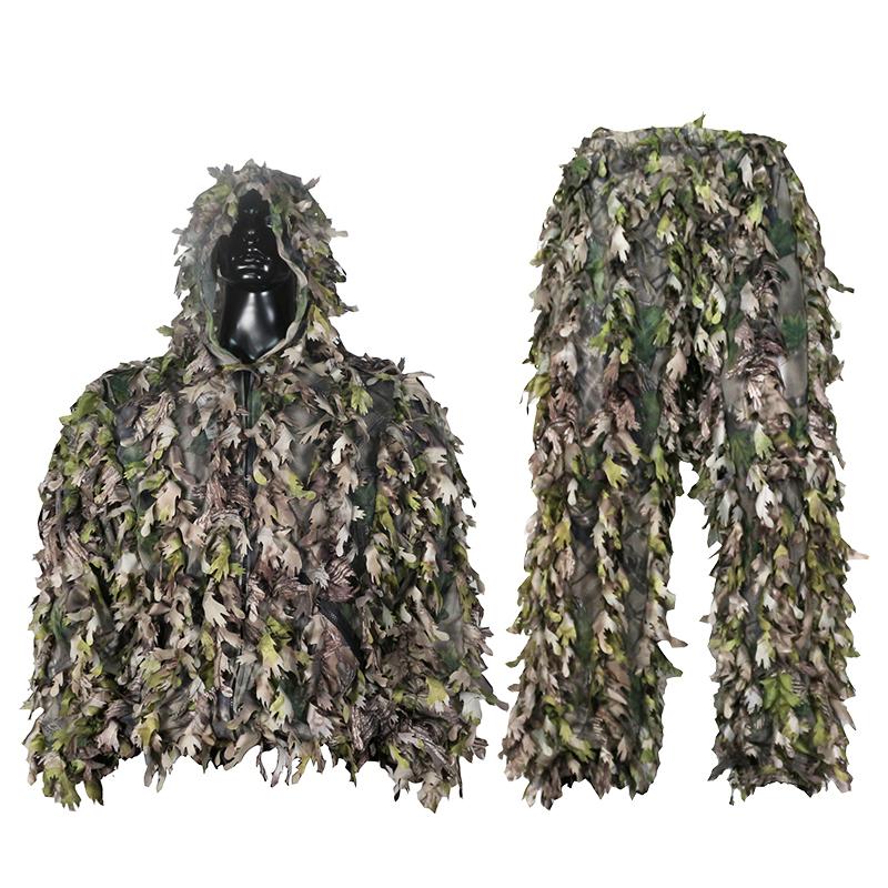 3D leaf suit hunting camouflage LS001