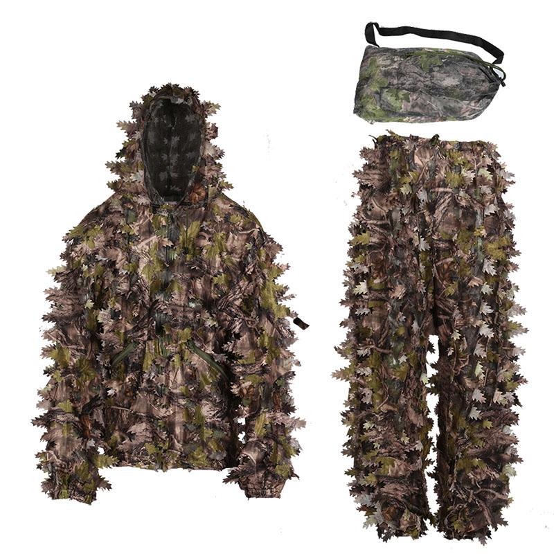 3D leaf suit hunting camouflage LS002
