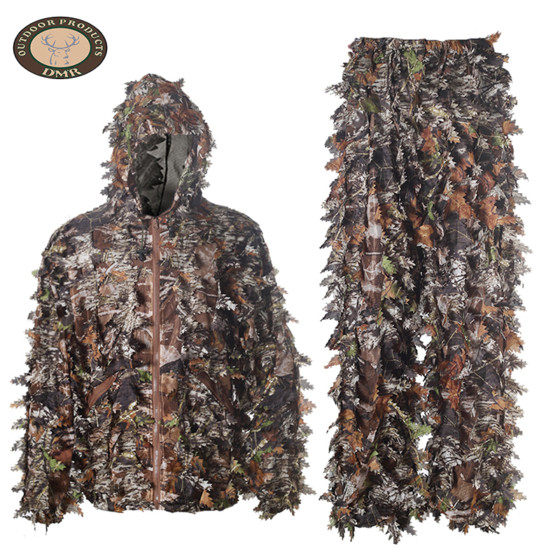 Tree camo 3D leaf hunting camouflage suit LS005