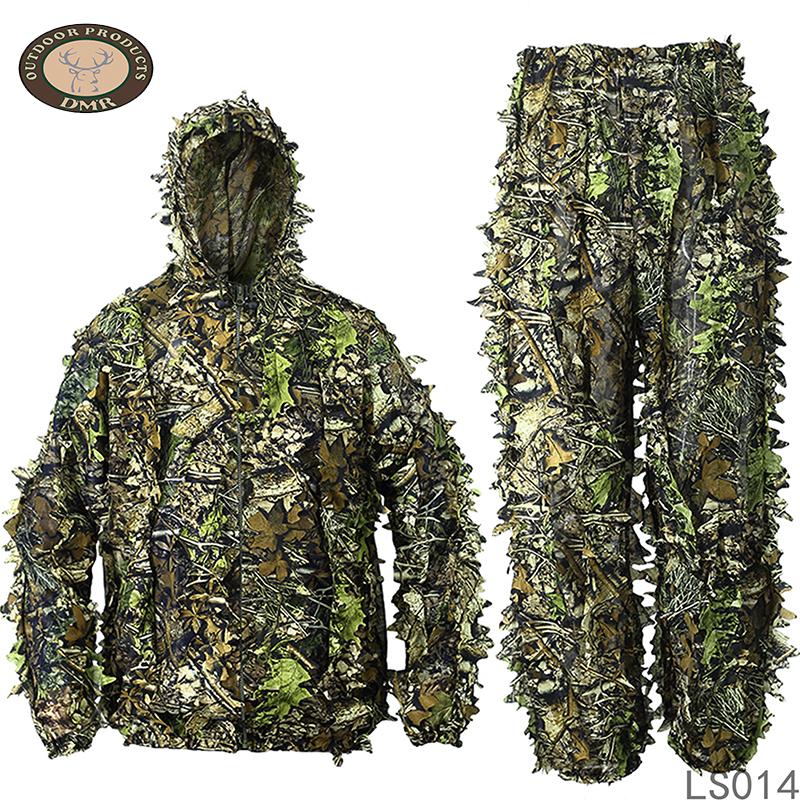 3D leaf hunting camouflage suit LS014
