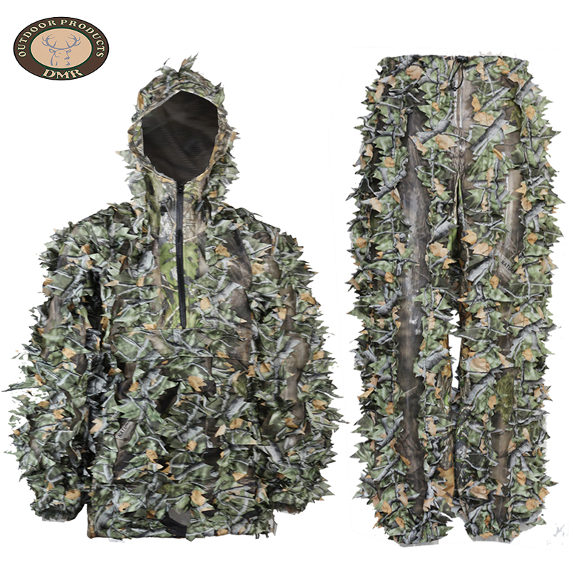 Tree camo 3D leaf hunting camouflage suit LS035