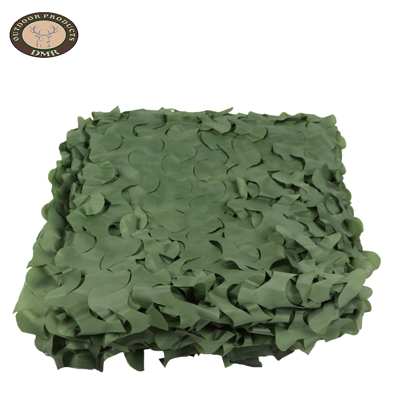 Pure color green camouflage net
