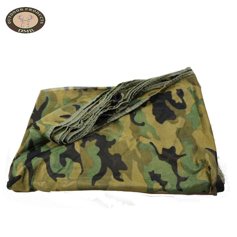 Multi colors pure net fabric camouflage net