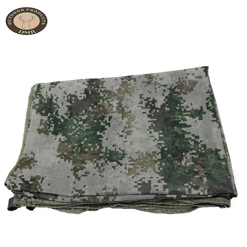Multi colors gray pure net fabric camouflage net