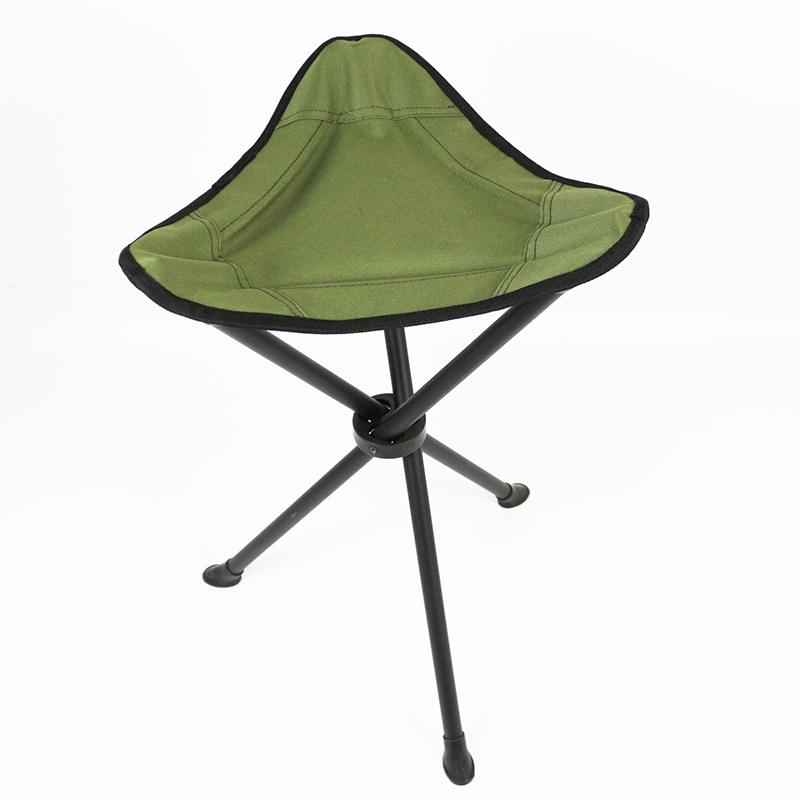 Stronger olive green hunting and fishing triangle chair OT029-1