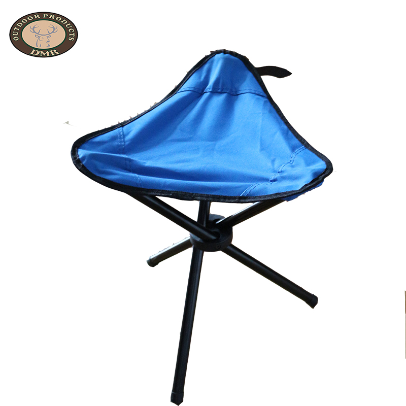 Blue hunting and fishing triangle chair OT029